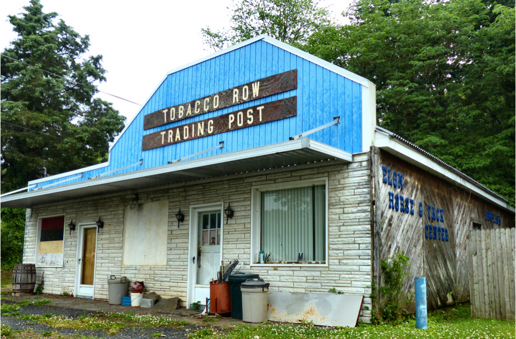Trading Post, Elon, VA. Photo by Kipp Teague. Used with permission. Original at https://www.flickr.com/photos/retroweb/9630063335/in/photostream/